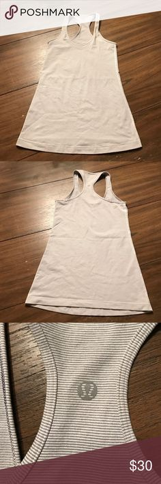 Lululemon Wee Stripe CRB Great condition! Bundle & save! No trades please 💖 lululemon athletica Tops Tank Tops