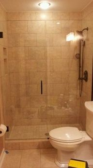 Frameless Glass Shower Doors & Enclosures - modern - showers - cincinnati - by Cincinnati Glass Contractors llc Bathroom Renos, Basement Bathroom, Bathroom Ideas, Bath Ideas, Shower Ideas, Bathroom Renovations, Bathroom Inspiration, Master Bath Shower, Guest Bath