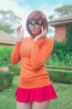 Velma 2 by KaylaErinOfficial.deviantart.com on @DeviantArt - More at https://pinterest.com/supergirlsart #scooby #doo #scoobydoo #cosplay