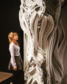 3D Printed Wall Features 200 Million Individual Surfaces  #architecture #arquitetura #arquitectura #arquitectura #design #diseño #building #massearch  #urbanism #urbanismo #iphonesia #art #master #structure #instagood #project #building #wall  #modernism #3dprint #toronto #parametric #3dprinting #robot3d