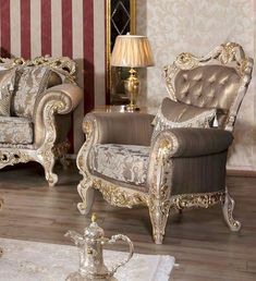 Luxury Sofa, Luxury Furniture, Wingback Chair, Armchair, Sofas, Accent Chairs, Dining Room, Bedroom, Home Decor