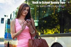 Back to School Beauty Tips for teens for a less chaotic  morning  #BacktoSchool #ad #IC