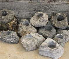 incredible rock planters. known as pumice stone or featherock. Shipped to your door from Maplestone Ornamentals