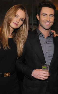 Adam Levine is engaged to Victoria's Secret angel Behati Prinsloo! Congrats to the beautiful couple!