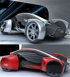Audi A0 QS (see more on http://www.tranchesdunet.com/concept-cars-films-science-fiction/ )