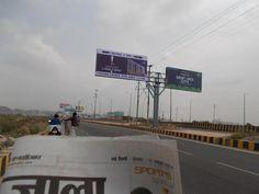On Sector-78 (Noida) Bridge.. #futureworldcare