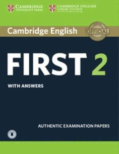 Cambridge English: First (FCE) 2 Self-Study Pack with Answers and  Audio Download