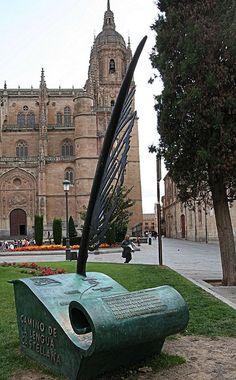 Salamanca Spain - Route of the Castilian Language