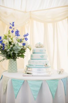 Shades of Duck Egg Blue for a Vintage Tea Party Inspired Classic English Wedding