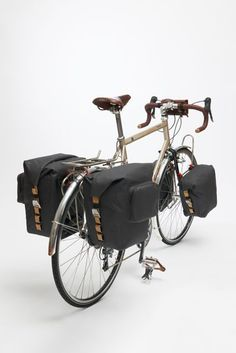 Image of BROOKS, LAND's END Rear Pannier