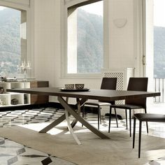Porada Infinity Wood  Dining Tables  Ovalelliptical Top New Ultra Modern Dining Room Inspiration Design