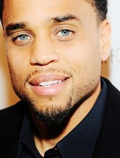 Michael Ealy. My goodness they can make him rough around the edges or refined and he's still oh so fine!