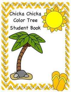 Chicka Chicka Color Tree is a student book that goes along with the book Chicka Chicka Boom Boom. It is a great way to introduce or review color words!