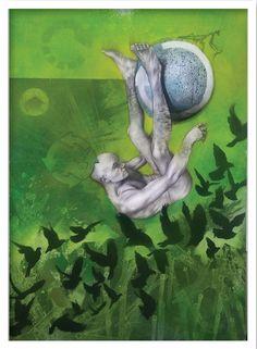 Adrian Owen | Geophysiology II | Buy Contemporary Art Online | StateoftheART Art Online, Online Art Gallery, Contemporary Art, African, Artwork, Painting, Work Of Art, Internet Art, Auguste Rodin Artwork