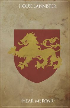 Game of Thrones Minimalist Posters on Behance