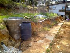 """See our internet site for even more information on """"rainwater harvesting design"""". It is actually an exceptional spot to get more information. Grey Water System, Water Systems, Grey Water Recycling, Permaculture Courses, Water From Air, Water Collection, Rainwater Harvesting, Water Conservation, Aquaponics"""