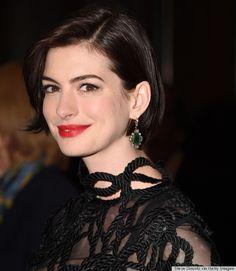 Say hello to Anne Hathaway's amazing bob