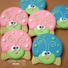 Cute as a Bug cookies
