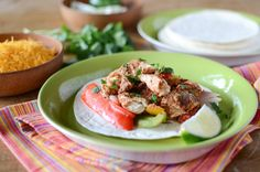 Oven Baked Chipotle Chicken Fajitas | Simply Whisked