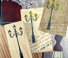 1 PCS Korea New Scrapbooking DIY Wooden Rubber Stamp Romantic Street Lamp Stamp  The cute little DIY seal  It can be used to make a post card, letter, diary, etc.  Of course you can use it for other kind of craft as well. Use your imagination.  Come deck it! Hurry to start to have a try.  Quantity: 1 Pcs  Size:8cmx4cmx2cm