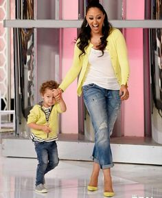 Tamera Mowry Housley and Aiden