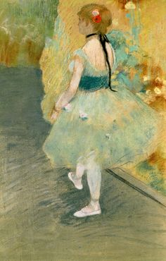 Dancer in Green Edgar Degas Fine Art Print Poster Edgar Degas, Degas Drawings, Degas Paintings, Pastel Paintings, Degas Ballerina, Post Impressionism, Impressionist Art, Ballerine Degas, National Gallery Of Art
