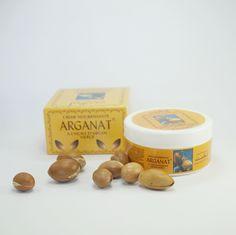 """Crema de Aceite de Argán """"Arganat"""" – 100gr.  Crema facial de aceite de argán para el cuidado nutritivo de la piel. Indicada para todo tipo de pieles, aporta hidratación y vitalidad sin proporcionar grasa.  De venta en Woomint®"""