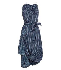 Blue Eight Dress #SS16