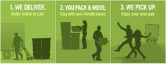 Vancouver's Green Eco-Friendly Reusable Moving Boxes   FROGBOX