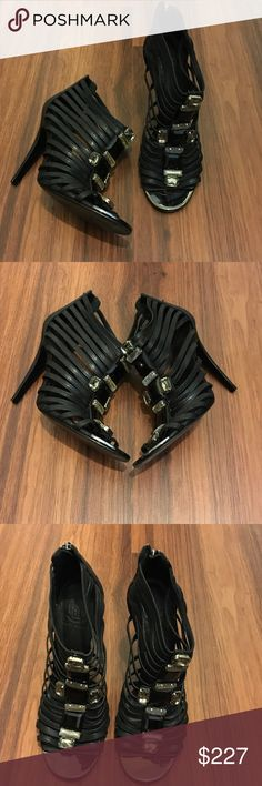 Tory Burch Jeweled  Strappy High Heel Sandals 8 Worn once ❤️ Tory Burch Shoes Heels