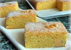 Mrkvová buchta   NejRecept.cz Carrot Cake, Cornbread, Carrots, Deserts, Food And Drink, Sweets, Baking, Ethnic Recipes, Cook