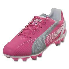 850df2dc31f4 PUMA Women s evoSPEED 3 FG (Azalea Pink White Limestone Gray) Soccer Gear