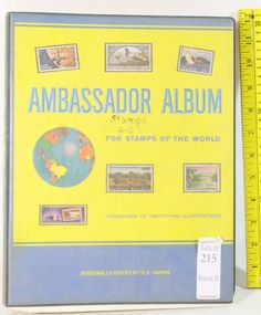 Stamp albums on pinterest postage stamps album and stamp collecting