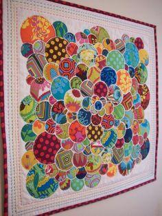 Garden Party Mini Quilt ... Love this!