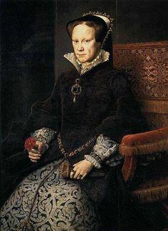 size: Giclee Print: Portrait of Mary I of England, 1554 by Antonis Mor : Mary Tudor, Tudor Rose, Mary I Of England, Queen Of England, Prado, Creepy Nursery Rhymes, Framed Prints, Poster Prints, Canvas Prints