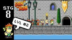 Dan The Man stage 8 - game walkthrough - lvl#2