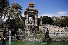 parc de la ciutadella. barcelona. spain.