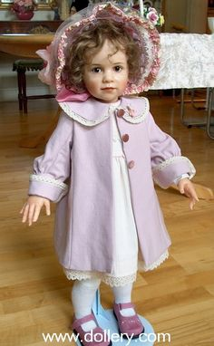 I don't really like dolls but this is the most realistic one Ive seen yet!    Sissel Bjorstad Skille doll