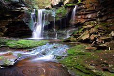 Sitting by Waterfalls
