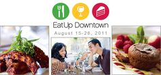 Love to Eat Up Downtown! August 13-26, 2012 enjoy a meal at one of the many Downtown Jacksonville restaurants!