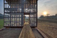 Hut to hut project - Kagal, India - 2012 - Rintala Eggertsson Architects