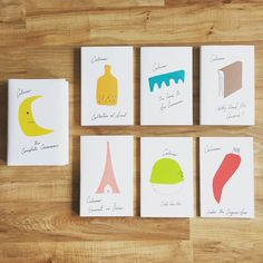 Front facings of the new Italo Calvino collection, designed by Peter Mendelsund & Oliver Munday #design #books