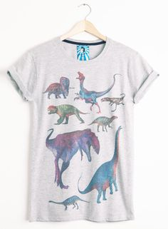 Women's Retro Dinosaurs Tee from PhixClothing.com
