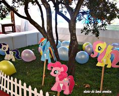"Photo 5 of 16: My Little Pony / Birthday ""Cumple My little Pony para Catalina"" 
