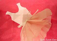 The White Ballerina: Ballerina Party Ideas