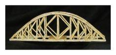 toothpick bridge - Google Search