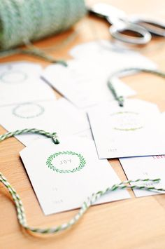 178 best Christmas Gift Tags and Printables images on Pinterest ...
