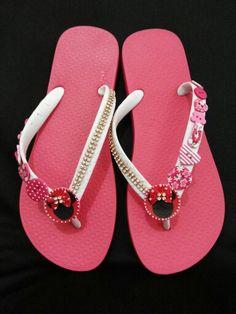b3d9f07093e3c 41 Best blinged Flip Flops images