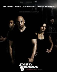 poster edit for - Vin Diesel Gallery ( Furious Movie, The Furious, Fast And Furious, Michelle Rodriguez, Vin Diesel, Paul Walker Family, Dom And Letty, How To Be Single Movie, Ludacris