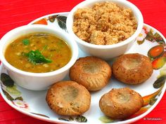 Rajasthani food is incomplete without the mention of the famed Dal-Baati-Churma.  The three together, simple though they sound, make a very filling meal. No Rajasthani festive or wedding menu is complete without this popular recipe.   #food #foodie #foodies #taste #rajasthan #dish #yummy #laziz #zayka